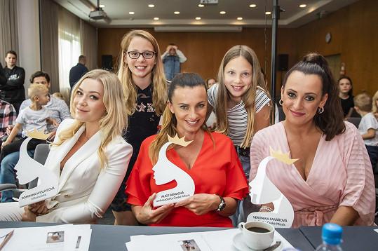V porotě zasedla také s Veronikou Farářovou a Dominikou Myslivcovou.