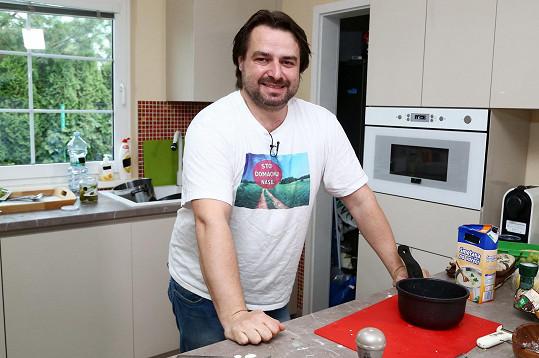 Zdeněk Macura se jako kuchař moc nevyznamenal.