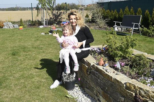 S dcerou Viktorkou