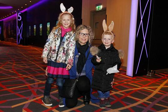 Kateřina Stočesová ukázala děti.