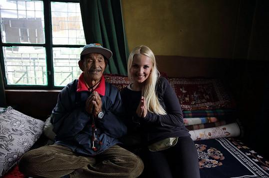 Lucie v Indii trávila tři týdny.