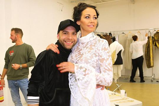 Na molo pozval jako modelku po dlouhé době i Agátu Prachařovou.