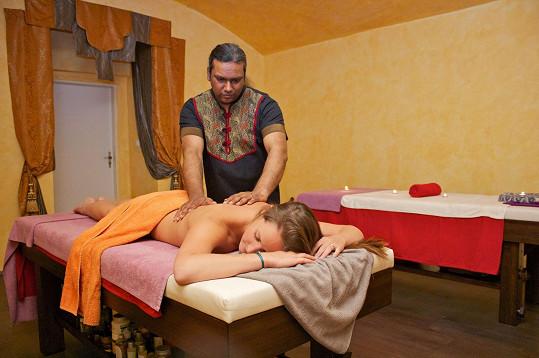 Na masáži