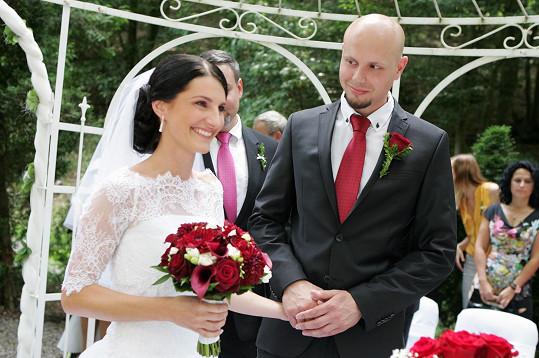 Svatba se konala v penzionu Spálený mlýn v Líšnici.