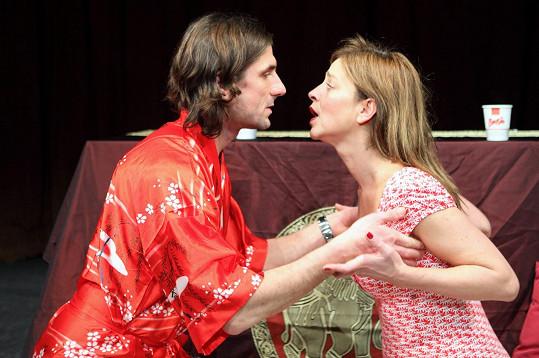 Lucie Zedníčková a její přítel Jaroslav Matějka si zahrají v jedné divadelní hře.