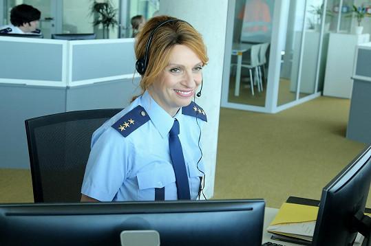 Ivana Chýlková je policistka.