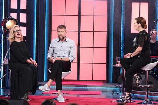 Slezáček byl s Jitkou Asterovou hostem show MARTA.