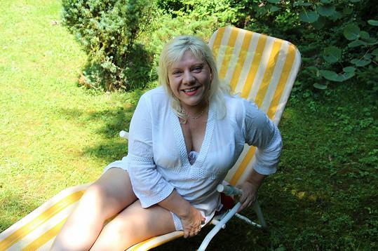 Léto Marie Pojkarové je plné pohody.