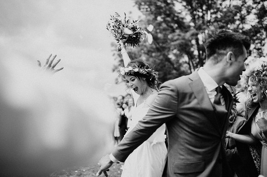 Moderátorka se dnes provdala.