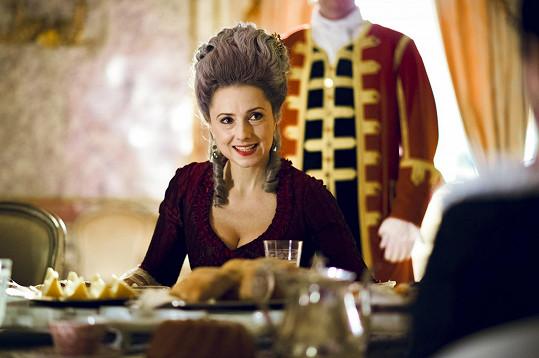 Na natáčení nechyběla ani slovenská herečka Zuzana Mauréry.