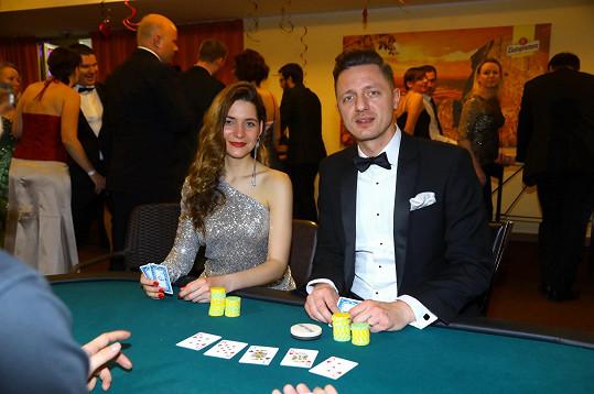 S Ondřejem Rumlem u karetního stolu