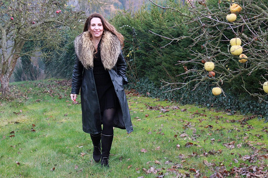 Zpěvačka Edita Randová pravidelně utíká z města na vesnici...