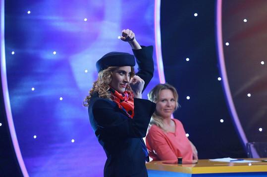 Marie Kružíková v show Kdo je kdo?