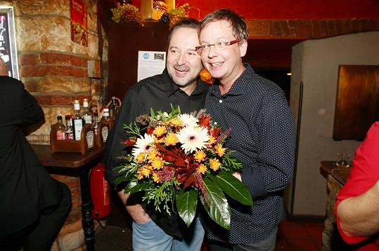 Partner Michal Jagelka ho dokopal k lékaři. Zachránil mu život.