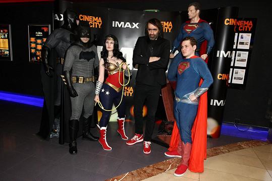 Jakub Kohák moderoval českou premiéru dlouho očekávaného snímku Batman v Superman: Úsvit spravedlnosti.