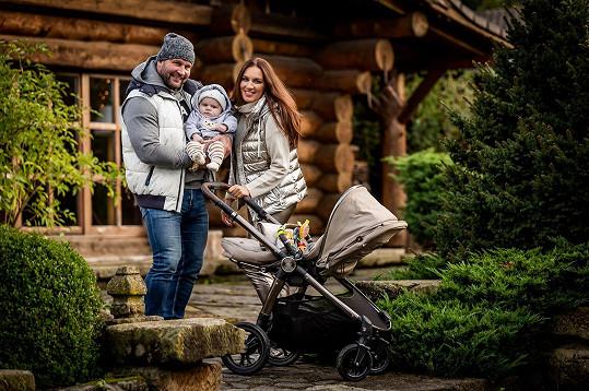 Lucie a Jiří Šlégrovi mají již 5. měsíců syna.