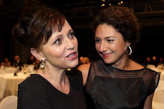 S Alenou Mihulovou, která nakonec cenu za nejlepší ženský herecký výkon získala.