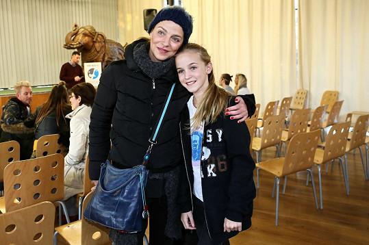 Lucie Zedníčková a její dcera Amálka navštívily zoo.
