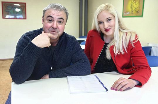 A s hereckým partnerem Martinem Zounarem