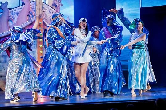 Gudasová opět hraje v muzikálu Mýdlový princ.