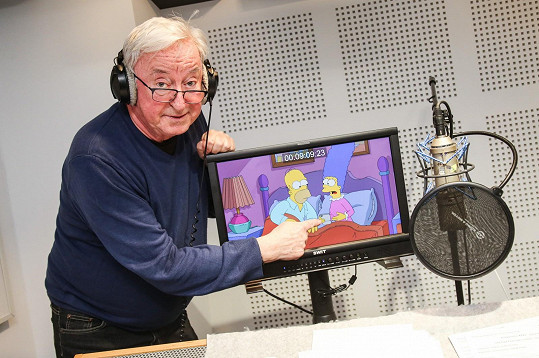 Jiří Lábus promlouvá na českých obrazovkách jako Marge od roku 1993.