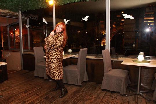 Holanová v leopardím plášti z třicátých let zavzpomínala na Pavla Vrbu.