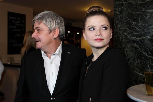 S tátou Michalem Suchánkem