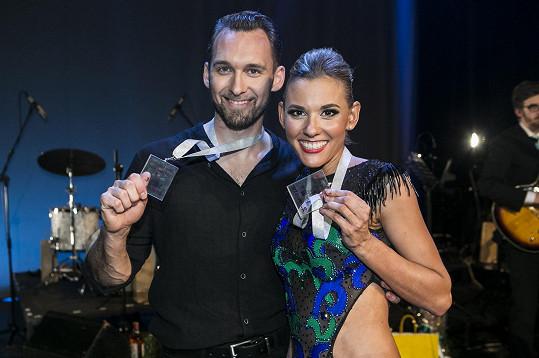 Šárka Vaculíková a Ondřej Borský vyhráli diváckou cenu.