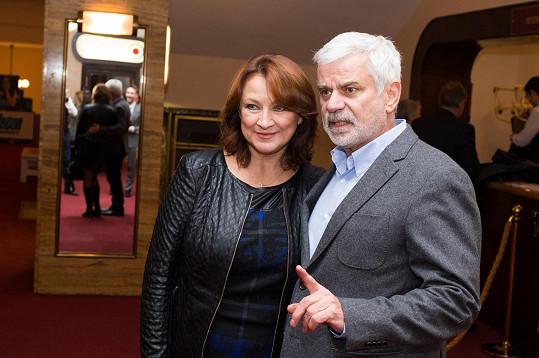 Či manželé Zlata Adamovská s Petrem Štěpánkem