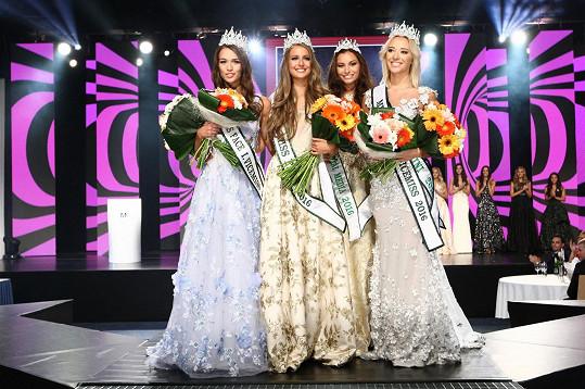 Vítězky doplnila ještě Miss media Sarah Karolyiová.