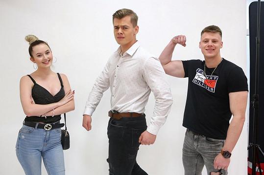 Byli mezi porotci na 1. castingu soutěže Muž roku.