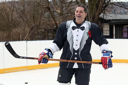 Martin v hokejovém
