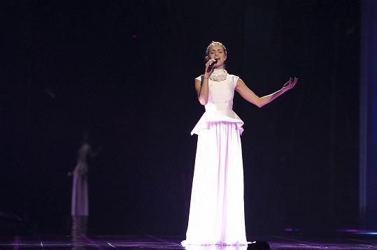 Gabriela Gunčíková na první zkoušce