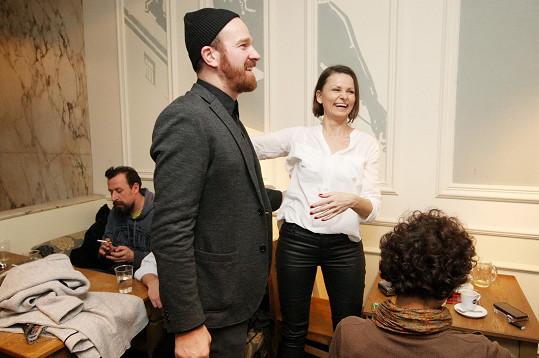 Klára Melíšková a Stanislav Majer