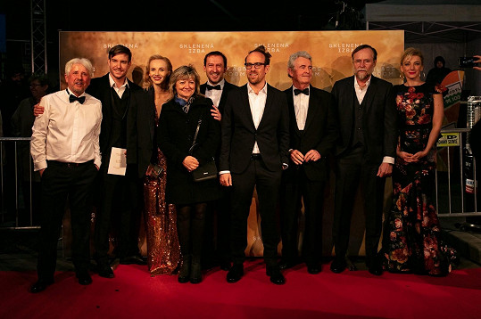Zbytek filmové delegace