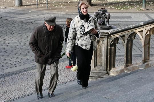 Petr Kostka a Carmen Mayerová