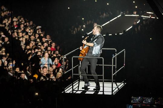 Koncert pro něj byl splněným snem.