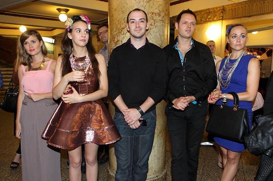 Míša s dalšími hosty během zahájení inspirativní výstavy