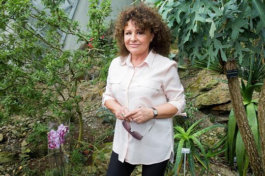 Jitka Zelenková se v trojské botanické zahradě rozpovídala o cestování.