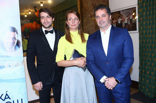 Marek Němec, Anna Polívková a Martin Dejdar