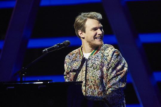 Vojta Dyk jakou kouč show The Voice Česko Slovensko.