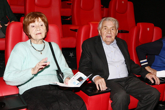 Rodiče Ivana Trojana, maminka Olga a táta Ladislav