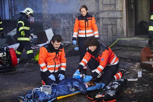 Tvůrci Ordinace slibují dramatičtější záběry i děj. Diváky čeká například výbuch plynu, což prý byla zatím nejakčnější scéna v celé historii seriálu.