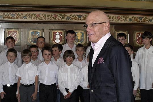 Jan Přeučil si zahrál pedofilního sbormistra, což nebyla vůbec jednoduchá role.