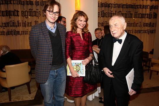 S váženým lékařem Josefem Kouteckým