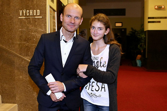 Dalibor Gondík s neteří Nelou