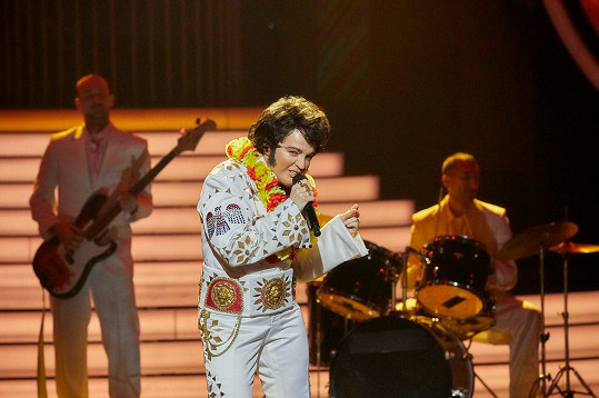 Marta Jandová jako Elvis Presley