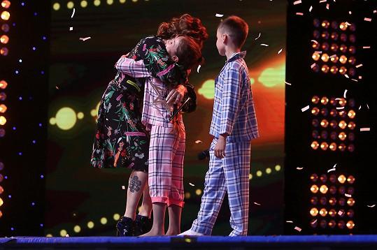 Do finále Katyu a Nikitu poslala Marta Jandová.