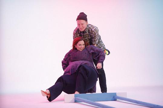 Ivana Korolová s kolegou Ondřejem Havlem