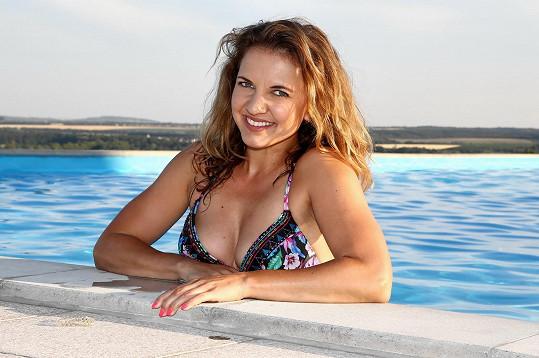 Znáte ji jako reportérku, pravdou ale je, že Andrea funguje také jako cvičitelka.